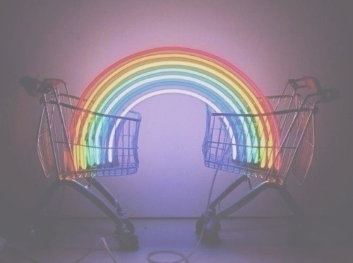 buy, cart, color, colorful, colors, darkness, dream, effects, grunge, hot, love, money, photography, rainbow, retro, rock, shop, supermarket, tumblr, vintage