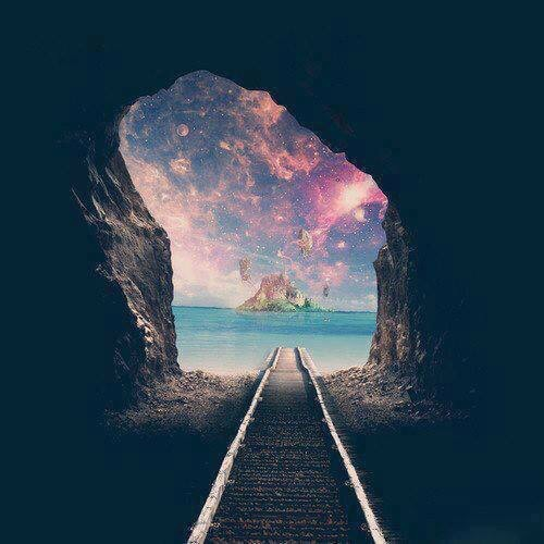 exit, galaxy and pastel