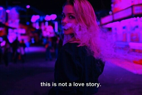 dissapointed, girl, love, not, smoke, story
