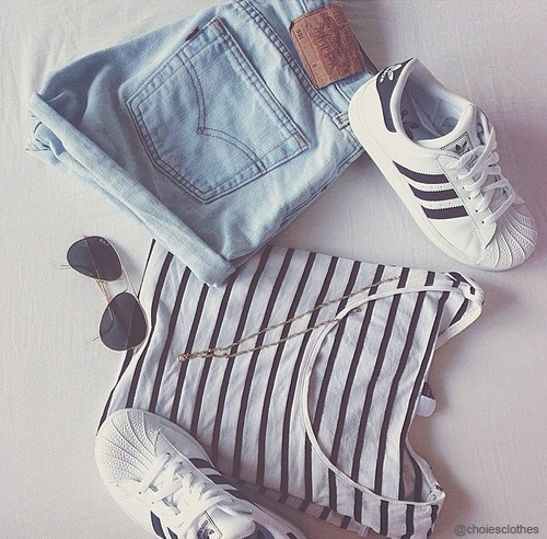 Adidas clothes fashion goals ootd - image #4036253 by LuciaLin on Favim.com