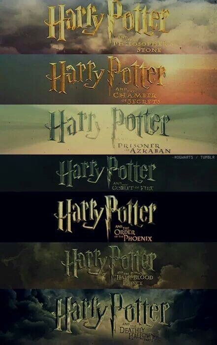 books harry potter hogwarts movies seven image
