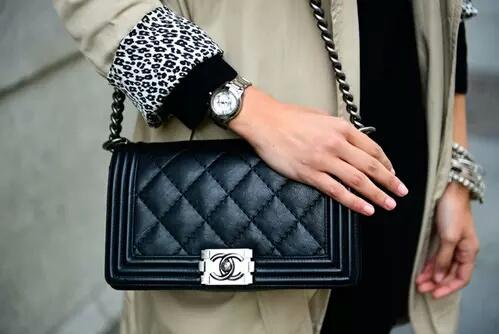 accessories, bag, bags, black, bracelet, chanel, classy, clutch, coat, fancy, fashion, girl, leather, leopard, luxurios, luxury, nails, outfit, perfect, rich, silver, style, watch