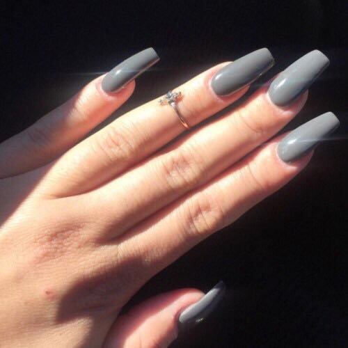 black nails with pink designs