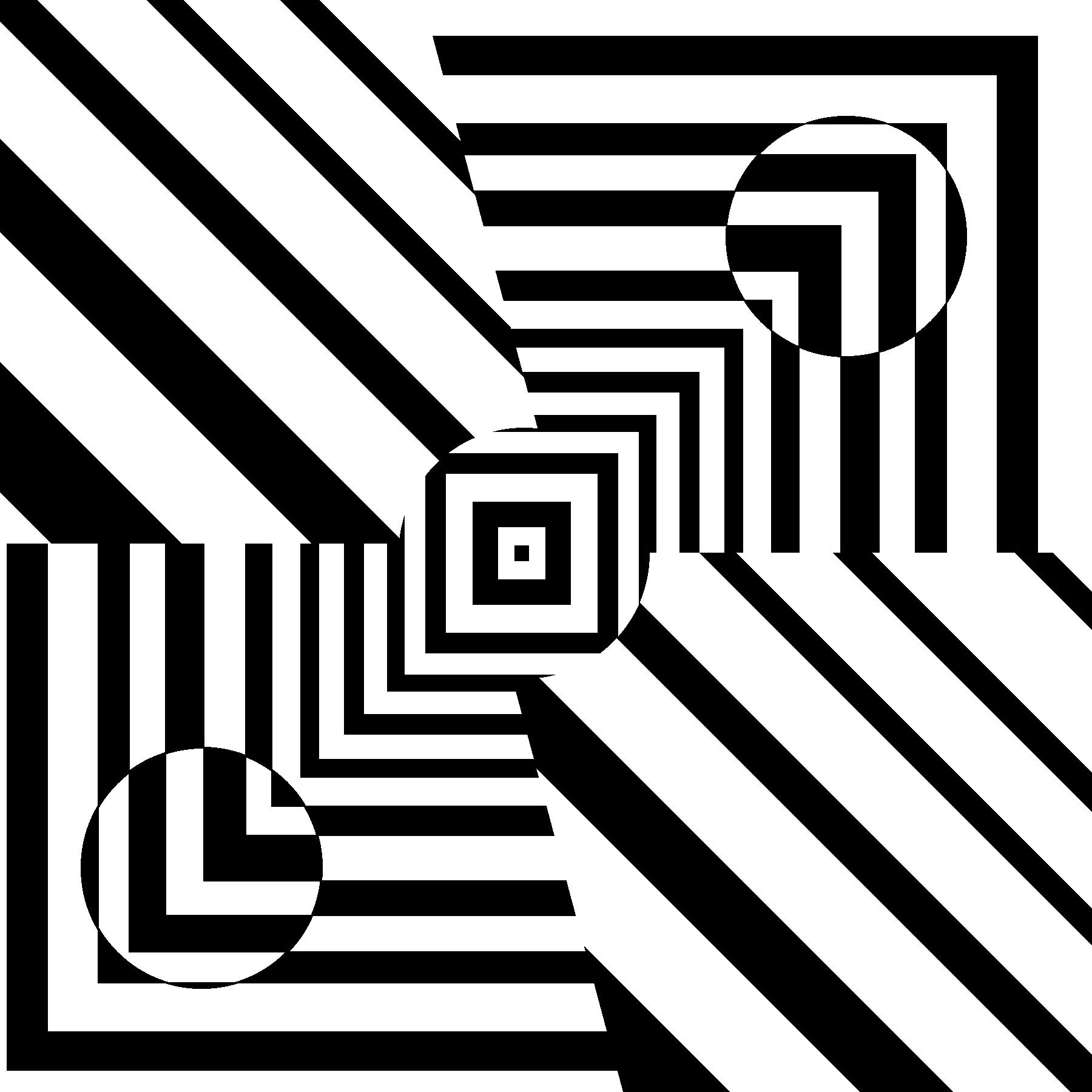 Optical Illusion 37 coloring page | Free Printable Coloring Pages | 1800x1800