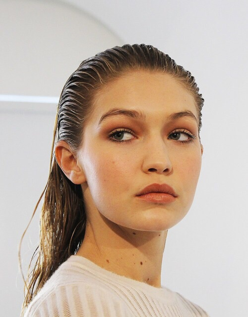 gigi hadid, wet, beauty, tumblr, model