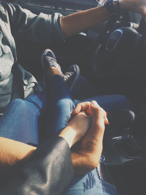 couples, tattoo, relationship, car, cute