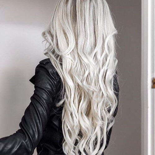 long hair, tumblr hair, wavy hair, hair, white hair