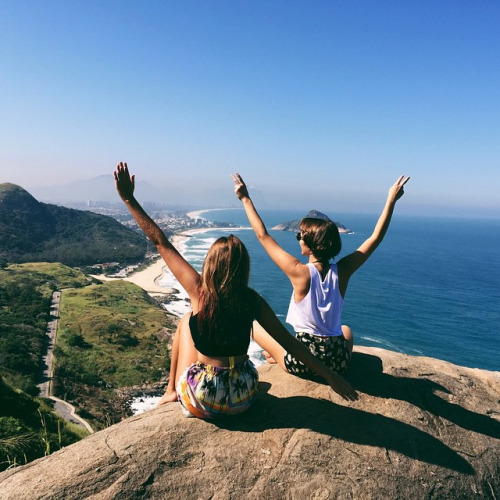 riodejaneiro, friend, girls, beach, summer