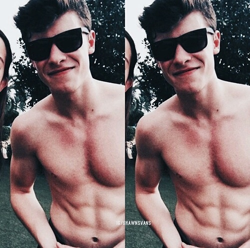 Sixpack Guy Cute Shawn Mendes Muscles Image 4223673
