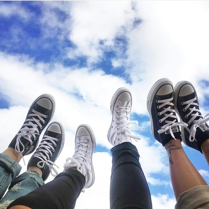 tumblr, shoes, all star, converse, friends