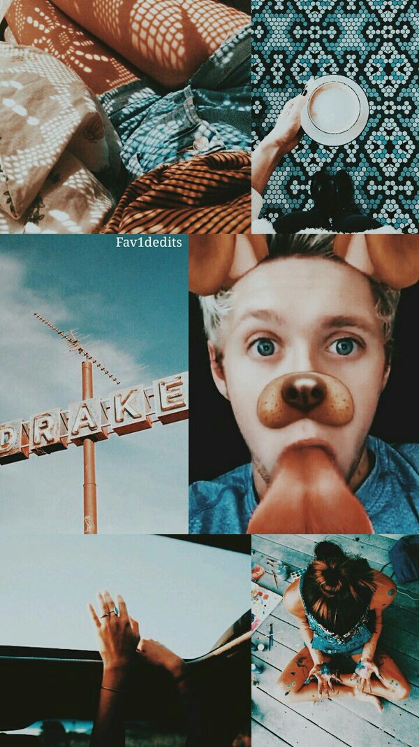 lockscreen, wallpaper, collage, niall horan, 1d
