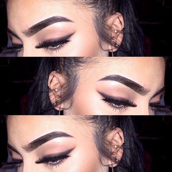 beauty, brows, glam, lashes, make up