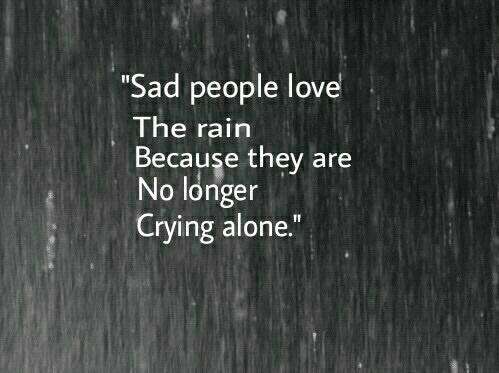 Sad Love Quotes About Rain : lonely, nostalgia, rain, sadness, tears - image #4359563 by Sharleen ...