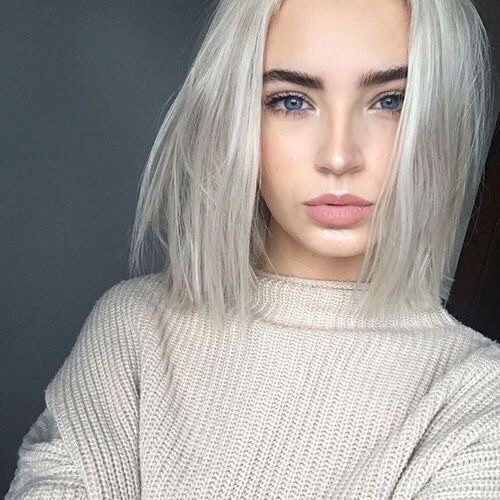 beauty, girl, grey, hair, hey