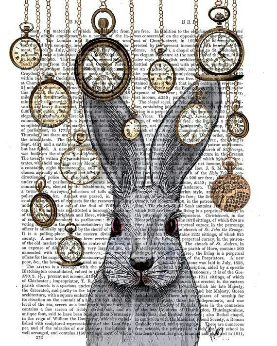 alice in wonderland clock clipart - photo #41
