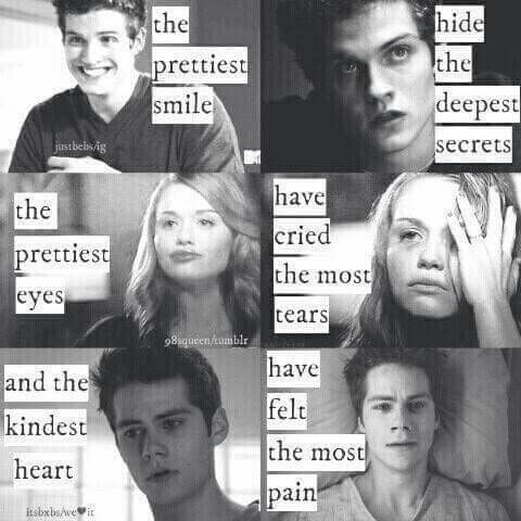 lydia martin, quote, so true, stiles stilinski, teen wolf