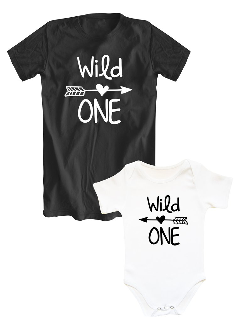 b7ccf65d Mother and daughter matching shirts Wild ONE – SugarARMY - image ...