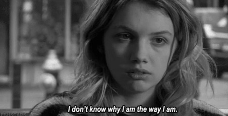 alone, anorexia, cassie, cry, depressed