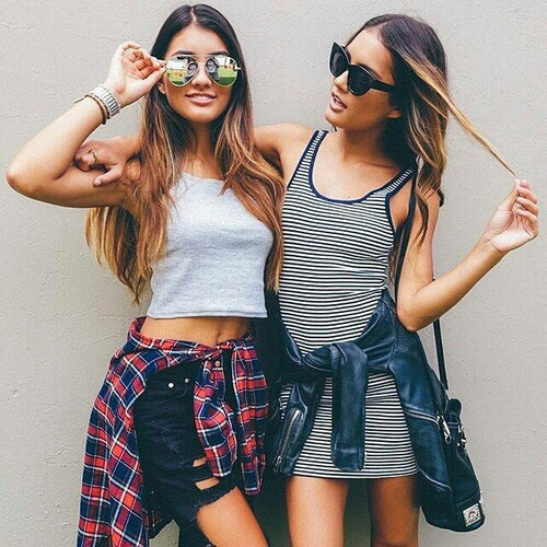 bff, fashion, girls, goals, hair