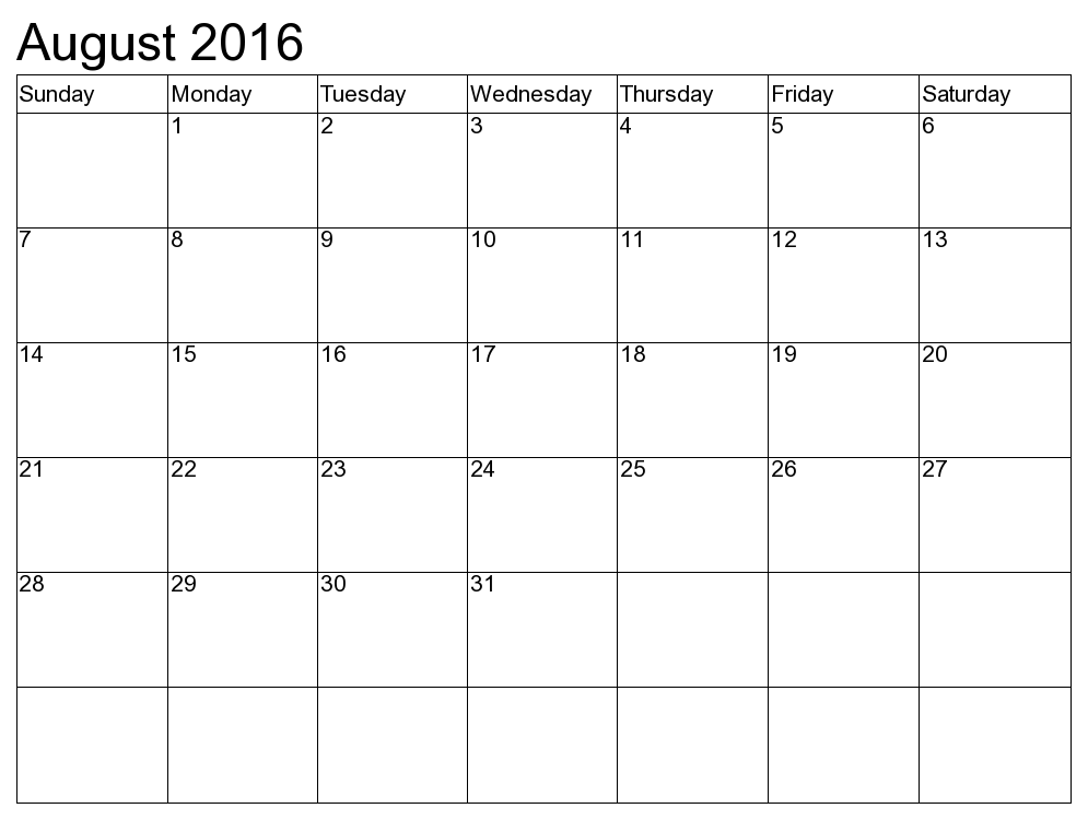August Calendar Template 2016 from s13.favim.com