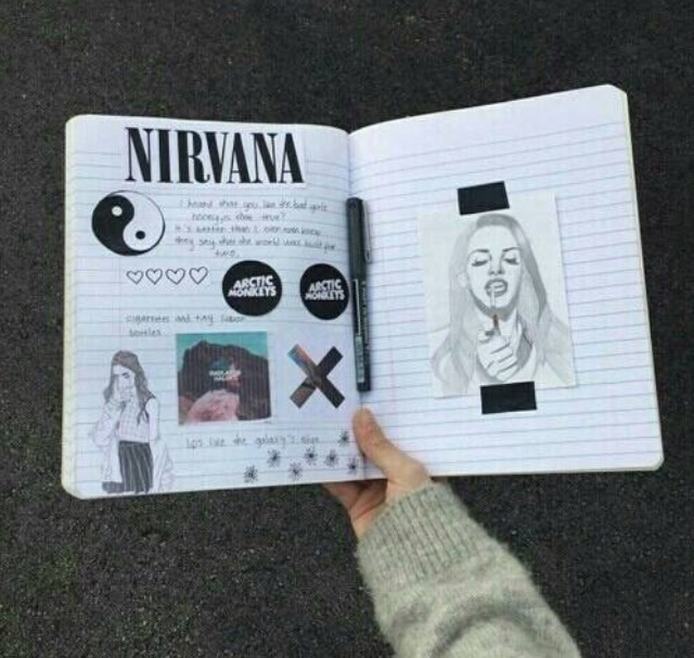 arctic monkeys, nirvana, halsey