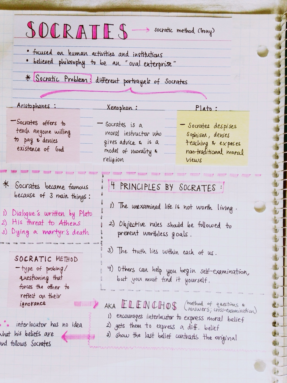 philosophy study notes