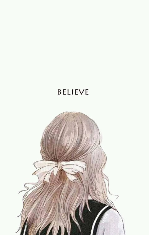 art, believe, drawing, hair, illustration