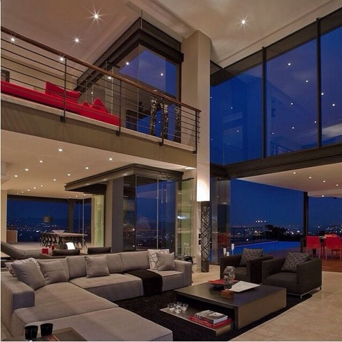 Living Room Penthouse White