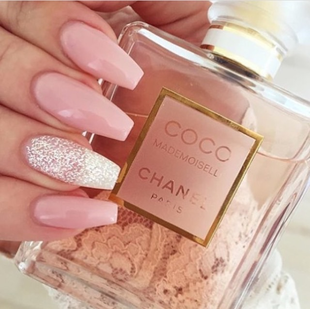 chanel, cute, girly, gorgeous, nails