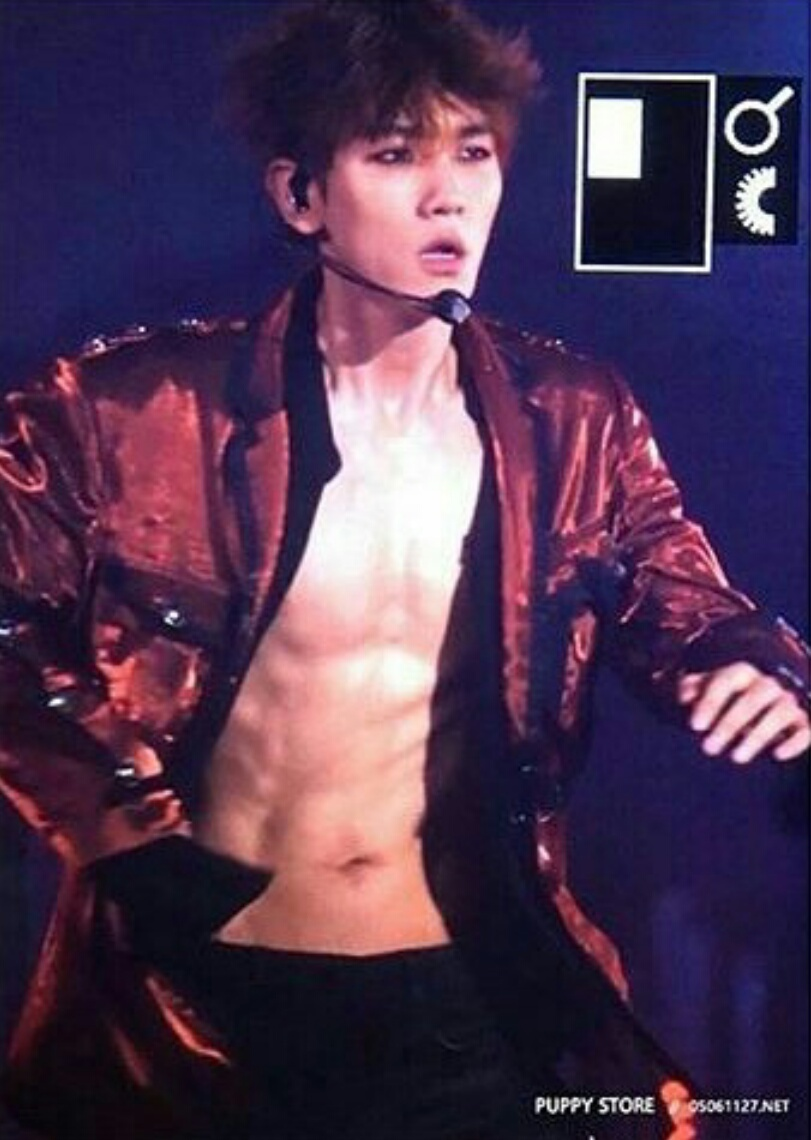 abs, asian, baekhyun, boy, chanyeol