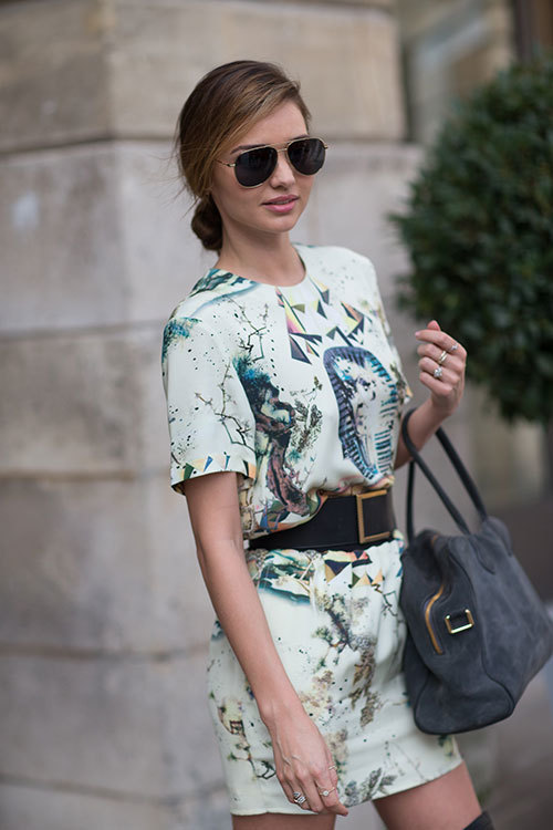 miranda kerr, model, new, style, sunglasses