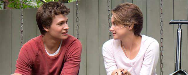 augustus waters, books, gifs, hazel grace lancaster, love