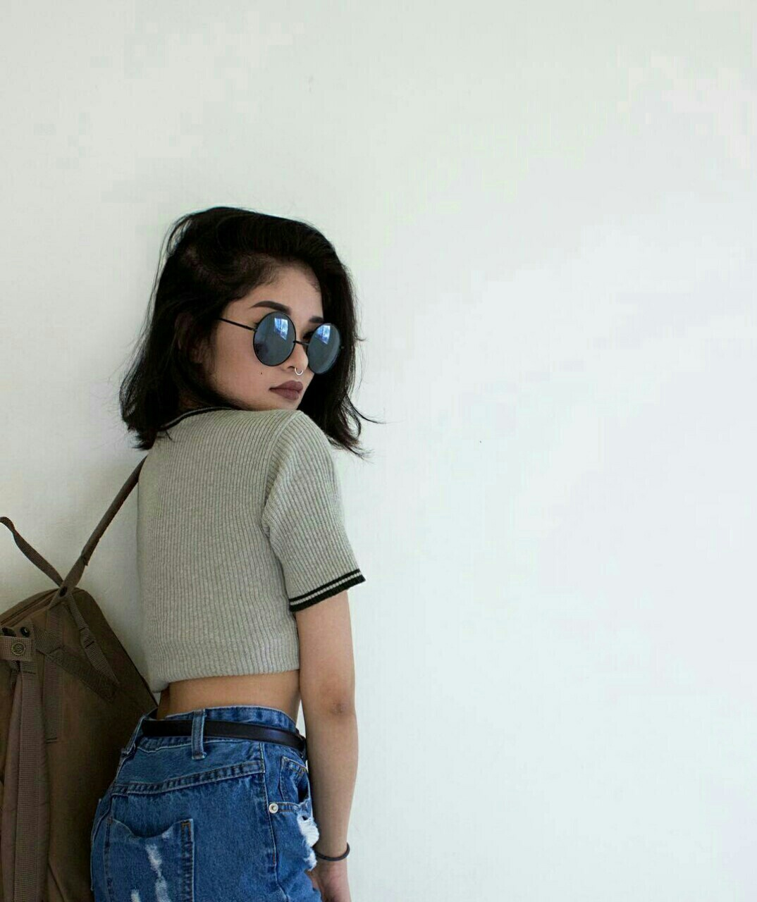 bag, cool, fashion, girl, glasses