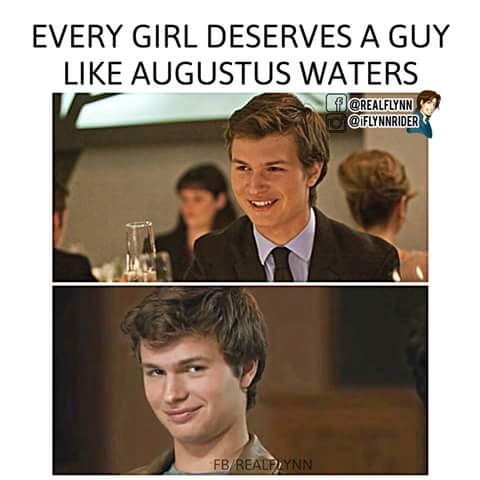 augustus waters, cancer, crush, cute, girls