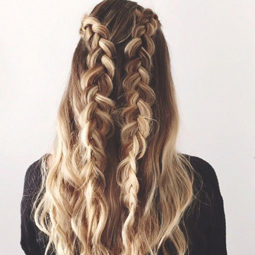 beach waves, boxer, braided, braids, fashion