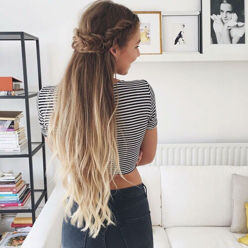 Hairstyle Goals : beauty, goals, hair, hairstyles, summer - image #4659788 by Sharleen ...