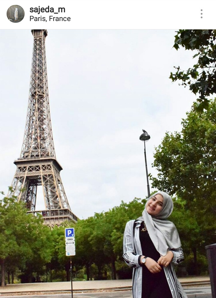 eiffeltower, fashion, france, hijab, hijabi
