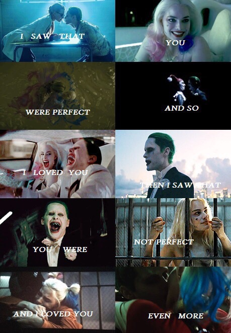 perfect, quotes, suicide squad