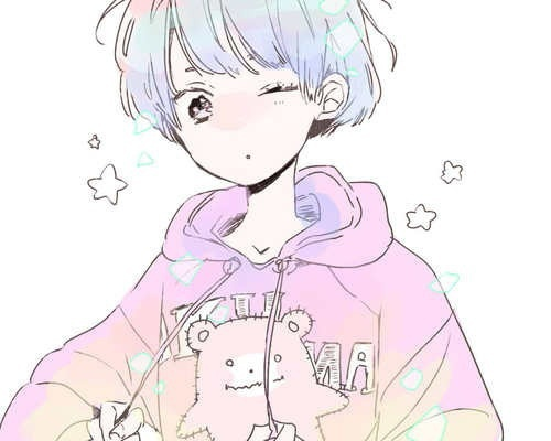 aesthetic, anime, art, boy, colorful