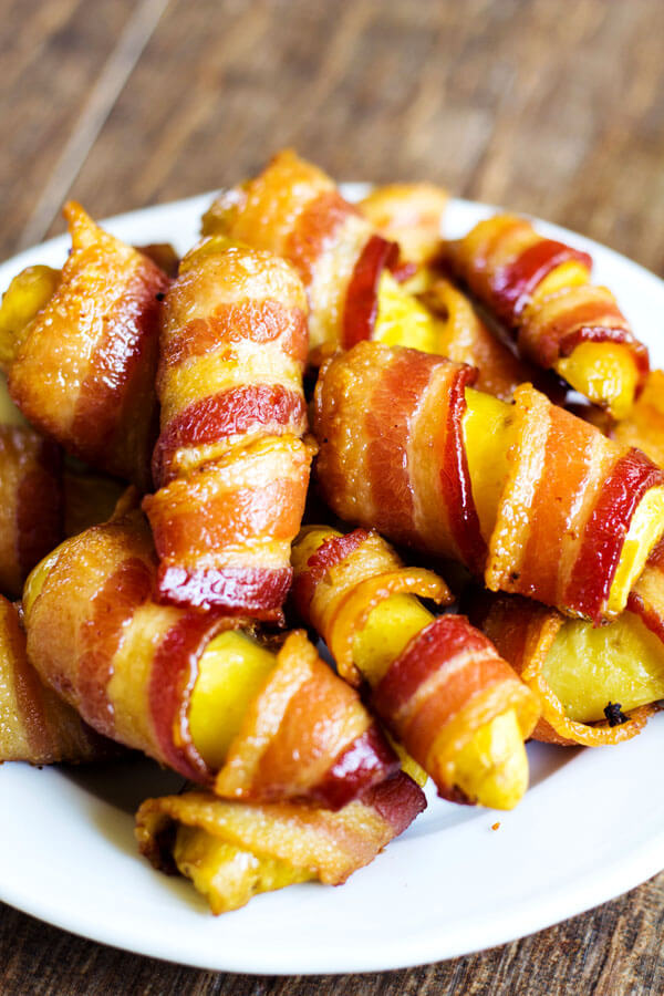Bacon Wrapped Fingerling Potatoes - image #4708898 by loren@ on Favim ...