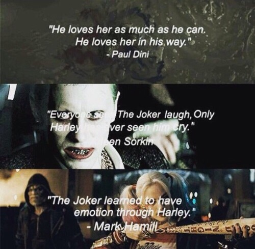 harley quinn, quotes, the joker, suicide squad - image #4743213 by ...