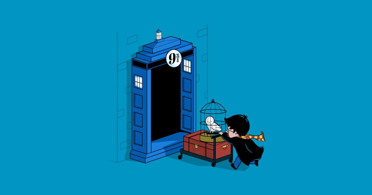 animated, cute, doctor who, fandom, harry potter