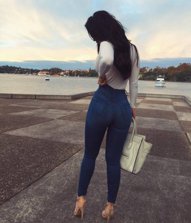 bag, beauty, booty, clothes, clouds