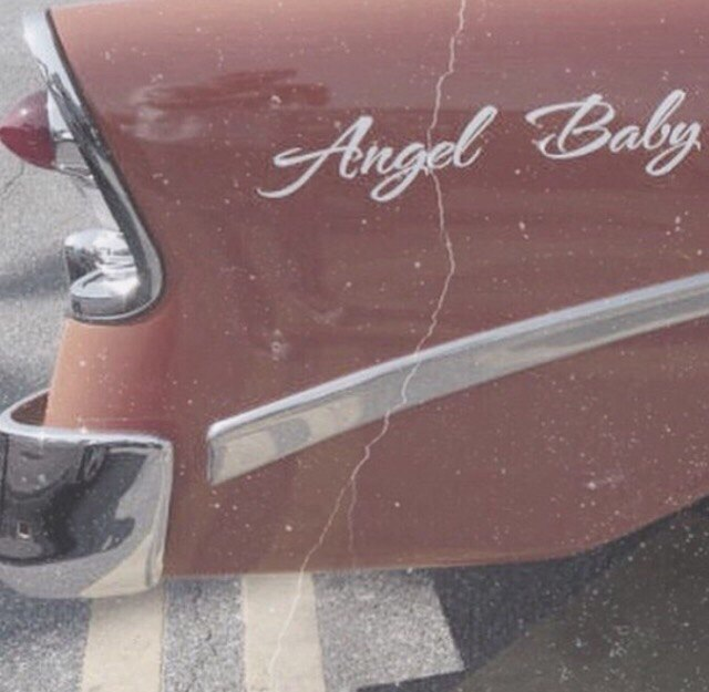 90s, angel baby, cadillac, car, old car