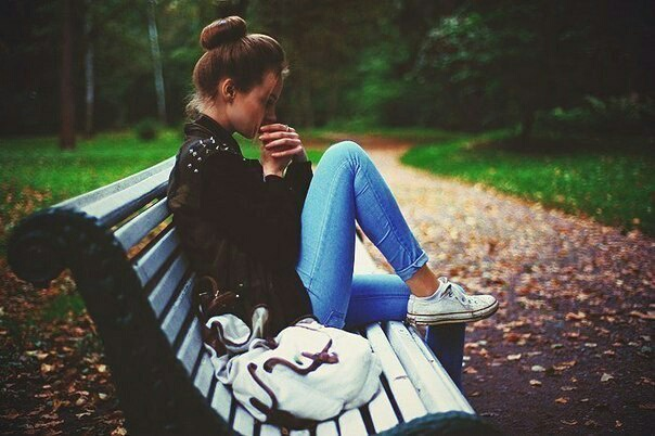 autumn, backpack, converse, girl, jeans