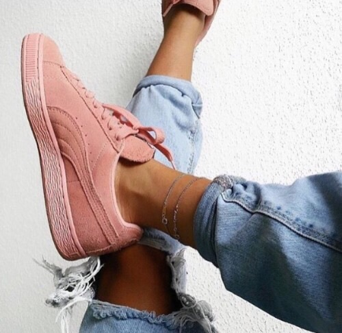 baby pink, blue jean, cute, fashion, jean