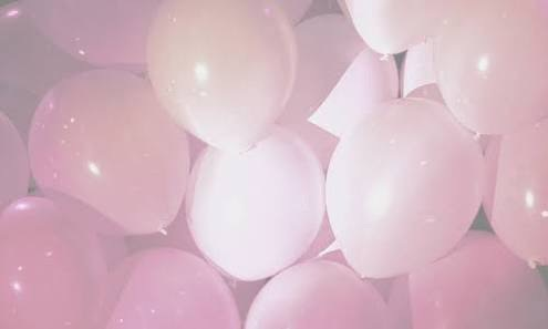 balloons, feed, goals, pastel, pink