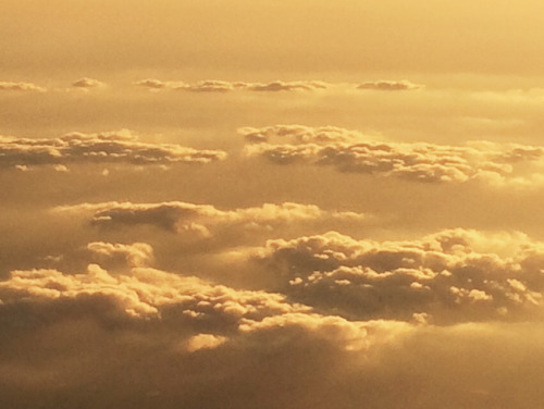 aesthetic, clouds, gold, scenery, tumblr