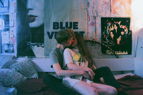 aesthetic, alternative, bed, bedroom, colourful
