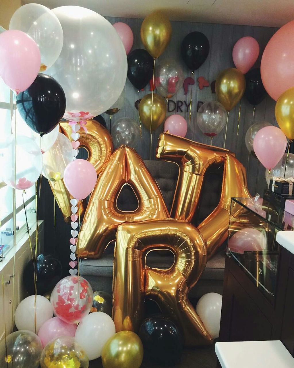 balloons, celebration, colours, cool, girly